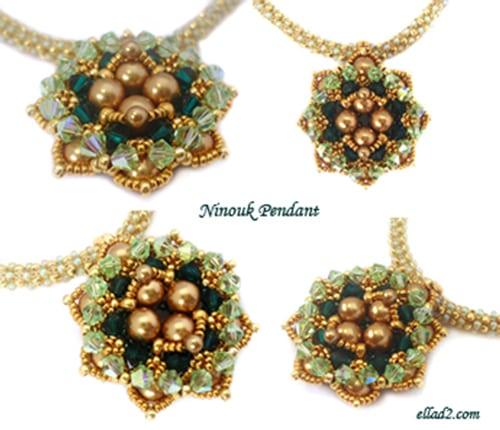 ninouk pendant beading tutorials and patterns by ellad2