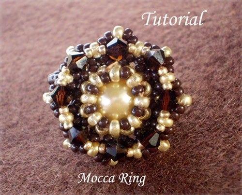 Beading Tutorial Mocca Ring