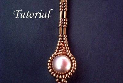 Beading Tutorial TUTORIAL Long Pearly Tila Earrings