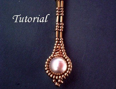 Beading Tutorial TUTORIAL Long Pearly Tila Earrings