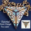 Beading Tutorial Peyote Triangle two sided
