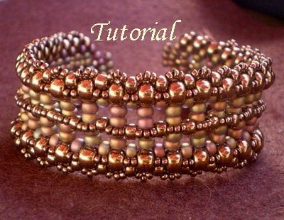 Beading Tutorial Pillar Bracelet
