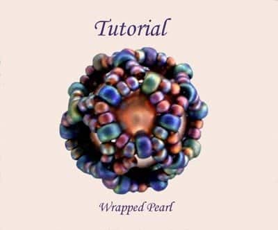 Beading Tutorial Wrapped Pearl