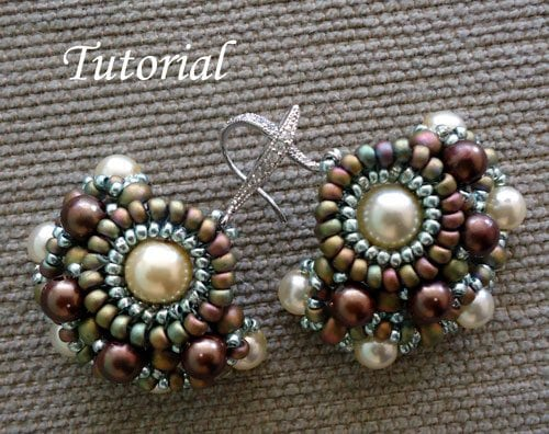 Beading Tutorial-Chiquita-earrings