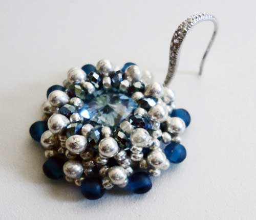 Beading Tutorial Timeless-Blue-Topaz-variations