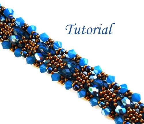 Beading Tutorial-Blue-Opal-bracelet-by-Ellad2