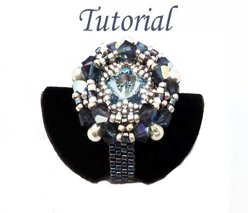 Beading Tutorial Starlet RIng