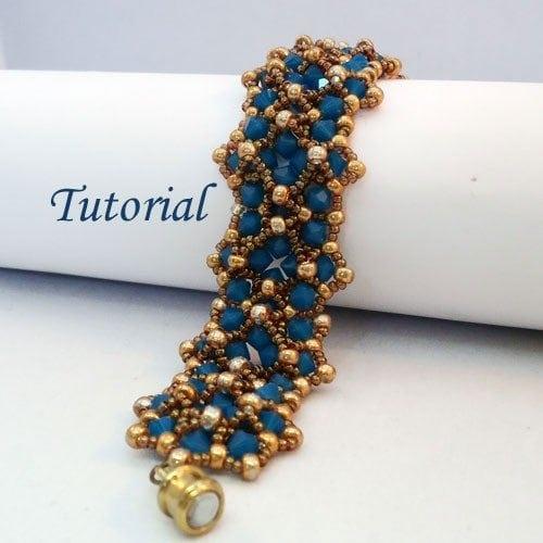 Beading Tutorial-Markiza-bracelet