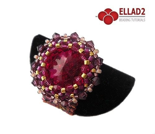 Beading-Tutorial-Pink-Bling-Ring