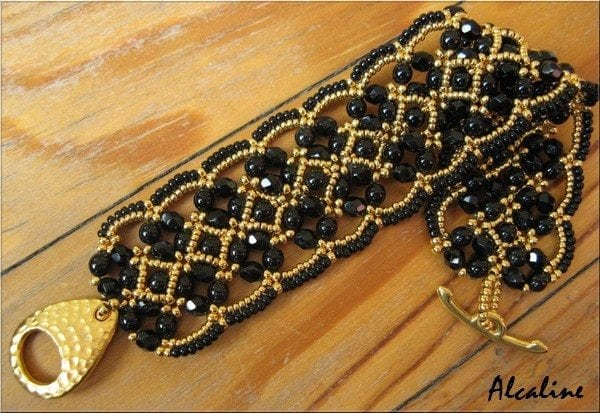 Maroon Bracelet by Sandrine