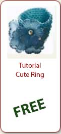 Free beading Tutorial Cute RIng -Ellad2