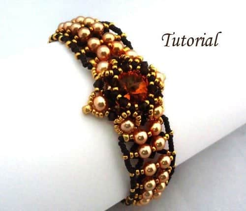Tutorial Marigold bracelet by Ellad2