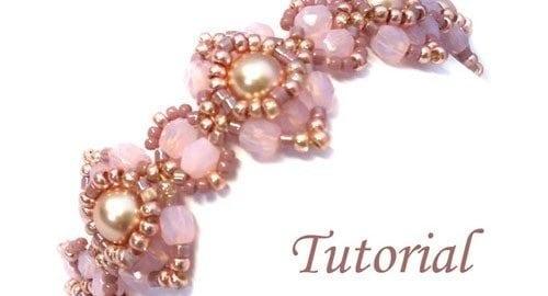 Beading Tutorial Go Blush Bracelet