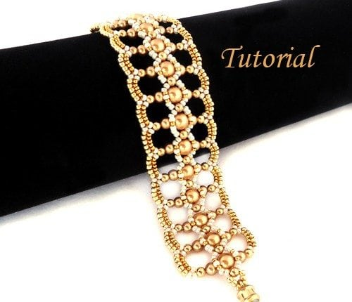 Beading Tutorial-Let-it-shine-bracelet
