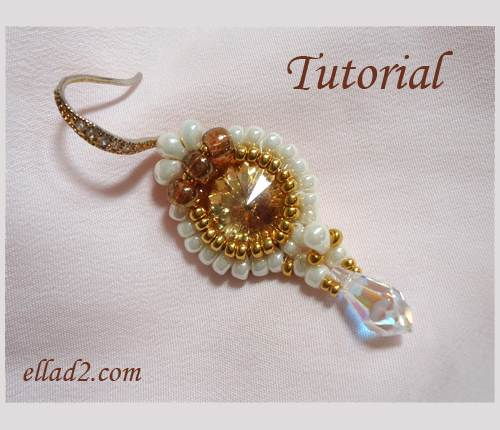 Beading Tutorial-Queeny-Mini-Earrings