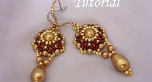 Beading Tutorial Go Girl Earrings