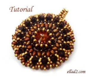 Beading Tutorial Sole Mio Pendant