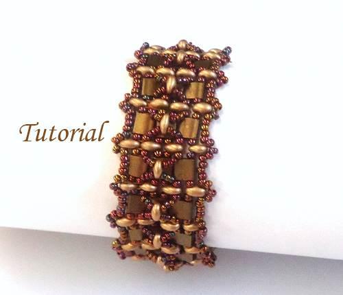 Beading Tutorial Tila Twins Bracelet