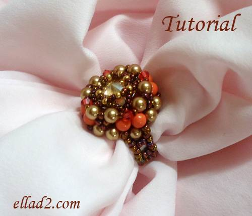 Beading Tutorial Expectation Ring