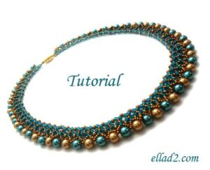 Beading Tutorial Freya Necklace