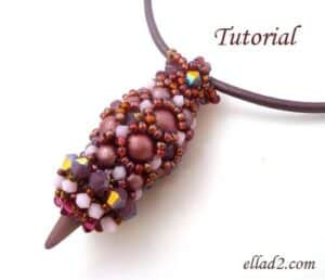 Beading Tutorial Spiky Pendant