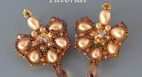 Beading Tutorial Drop Earrings