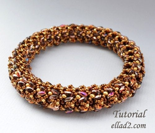 Beading Tutorials and Patterns by Ellad2 - Bangle Kyra