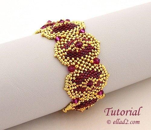 Beading Tutorial Morena Bracelet by Ellad2