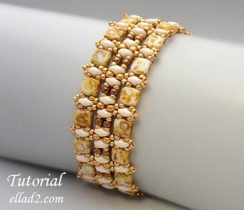 Beading-Tutorial-Champagne-bracelet-by-Ellad2