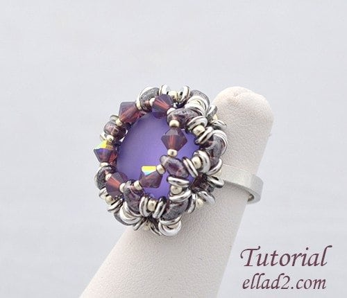 Beading Tutorial O-Ring by Ellad2