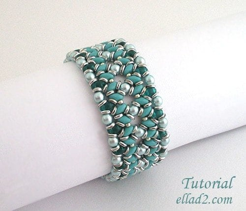 O Duo Bracelet Beading Patterns And Tutorials By Ellad2