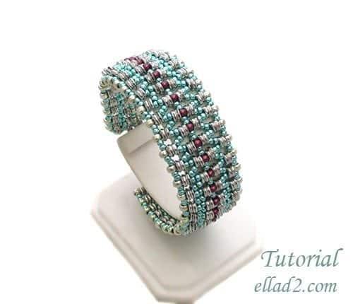 Beading-Tutorial-O-La Bracelet