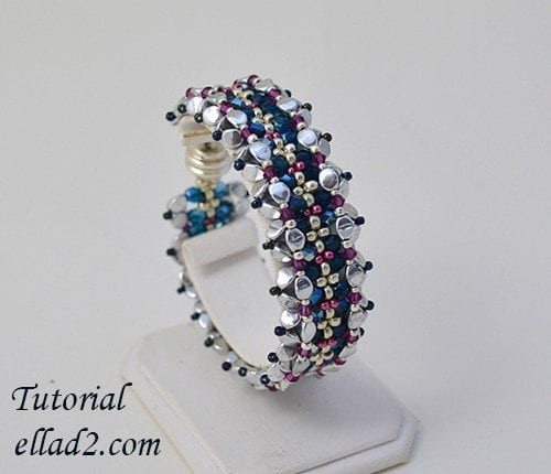 Beading Tutorial Caterpillar Bracelet