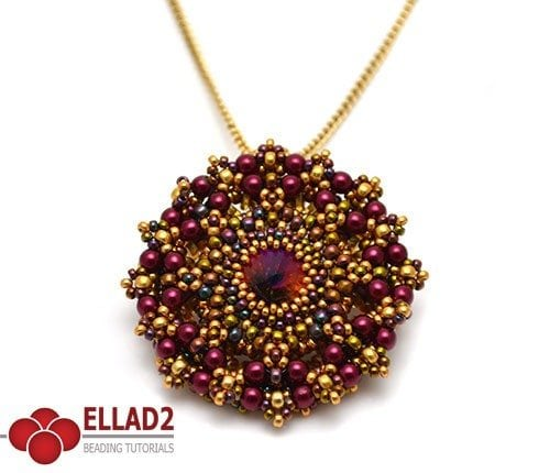 Beading-Tutorial-Sparkly-Wheel-Pendant-by-Ellad2