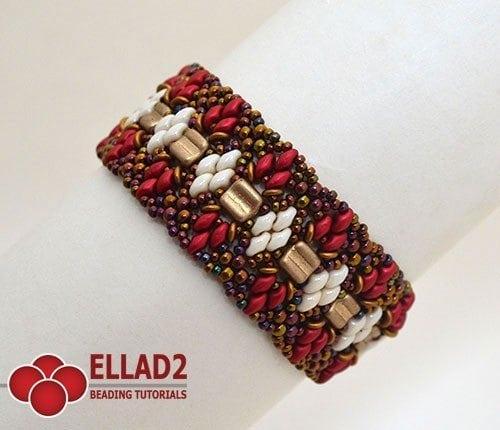 Beading-Tutorial-Osseleta Bracelet-by-Ellad2