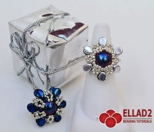 Free beading tutorial - Beading Patterns and Tutorials by Ellad2