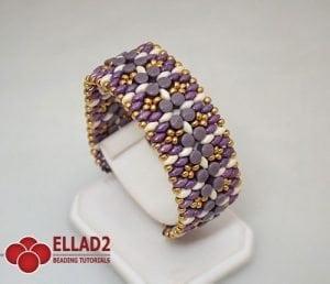 Beading Tutorial Pelleta Bracelet Ellad2