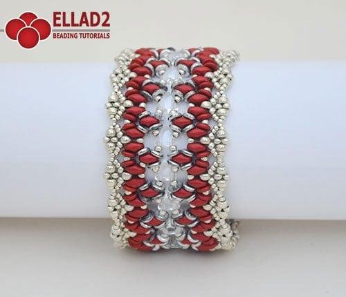 Calista bracelet Ellad2 Beading Pattern