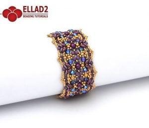 Lantana Bracelet - Ellad2 Beading Pattern