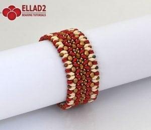 Caneel Bracelet - Beading Patterns and Tutorials by Ellad2