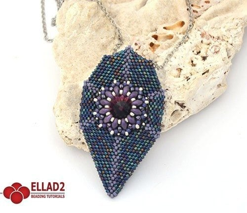 Koi Pendant - Ellad2 Beading Pattern