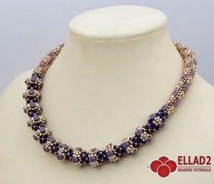 Beading Tutorial Pelleta Necklace