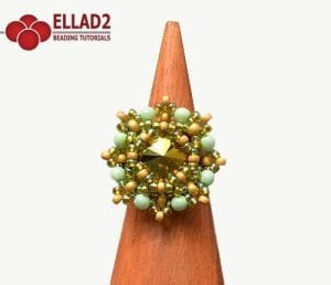 Nora Ring - Beading Patterns and Tutorials by Ellad2