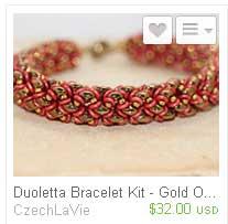 Duoletta-Bracelet-Bead-Kit--Gold-CzechLaVie -Ellad2