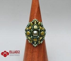 pellet ring -Ellad2 Beading Pattern