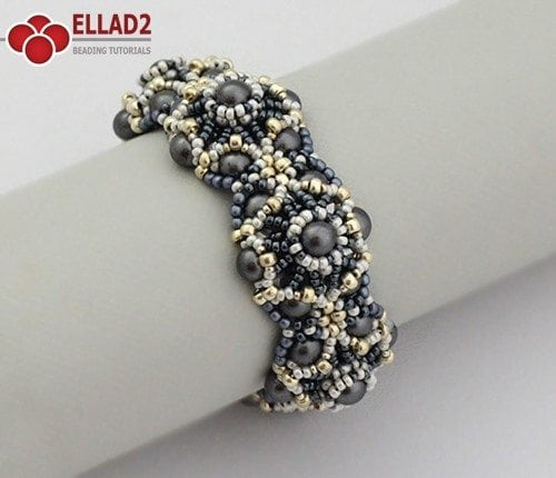 Thalia Bracelet - Beading Tutorials and Patterns by Ellad2