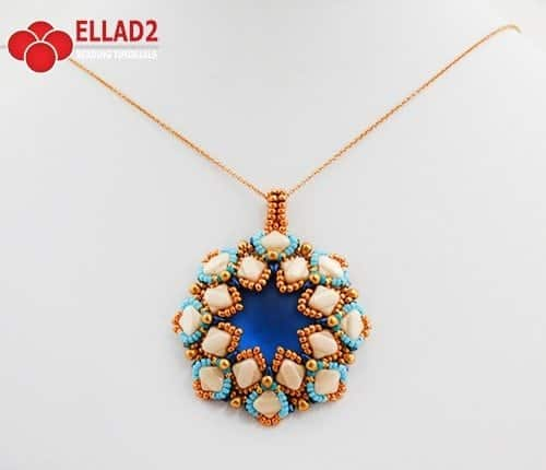darly pendant beading tutorials by Ellad2
