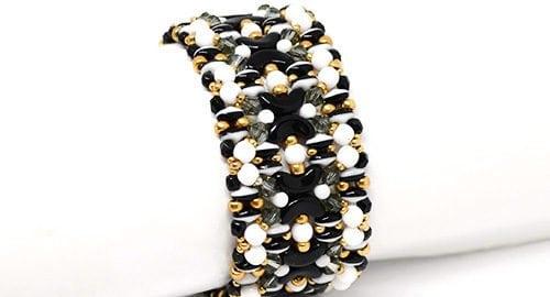 Beading Tutorial Kiara Bracelet by Ellad2