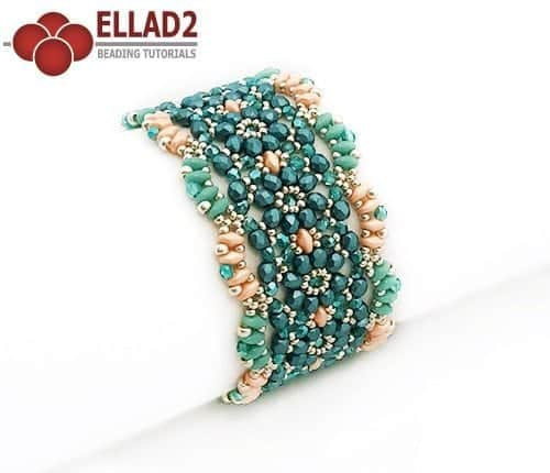 Beading Tutorial Noa Bracelet by Ellad2
