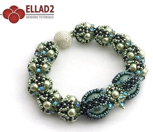 Beading Pattern Bracelet Noelle by Ellad2